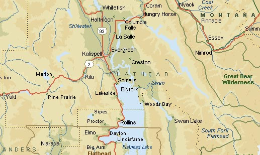 GSS Electric - Service Area - Kalispell - Evergreen - Bigfork - Whitefish - Columbia Falls